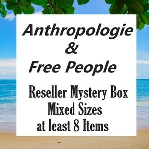 Anthropologie & Free People resellers Mystery Box